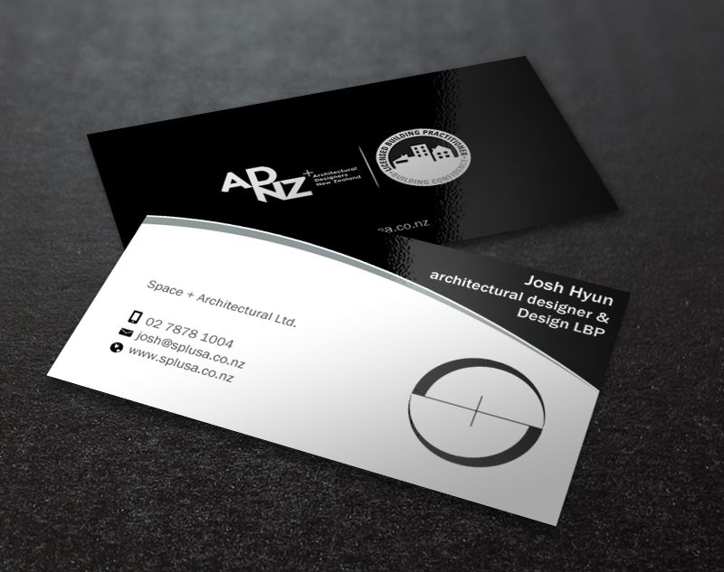 Professional, Upmarket, Architecture Business Card Design for space+ ...