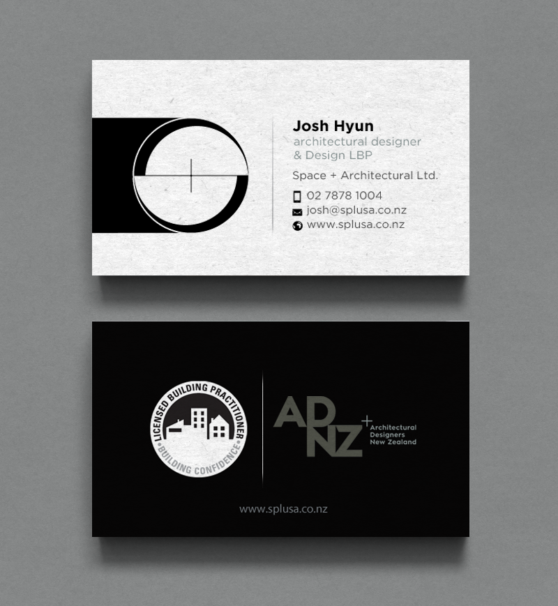 Professional upmarket architecture business card design for space business card design by chandrayaaneative for spacearchitecture ltd design 11920443 colourmoves Image collections