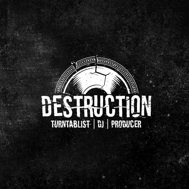 Destruction Logo Design by Digihexagon
