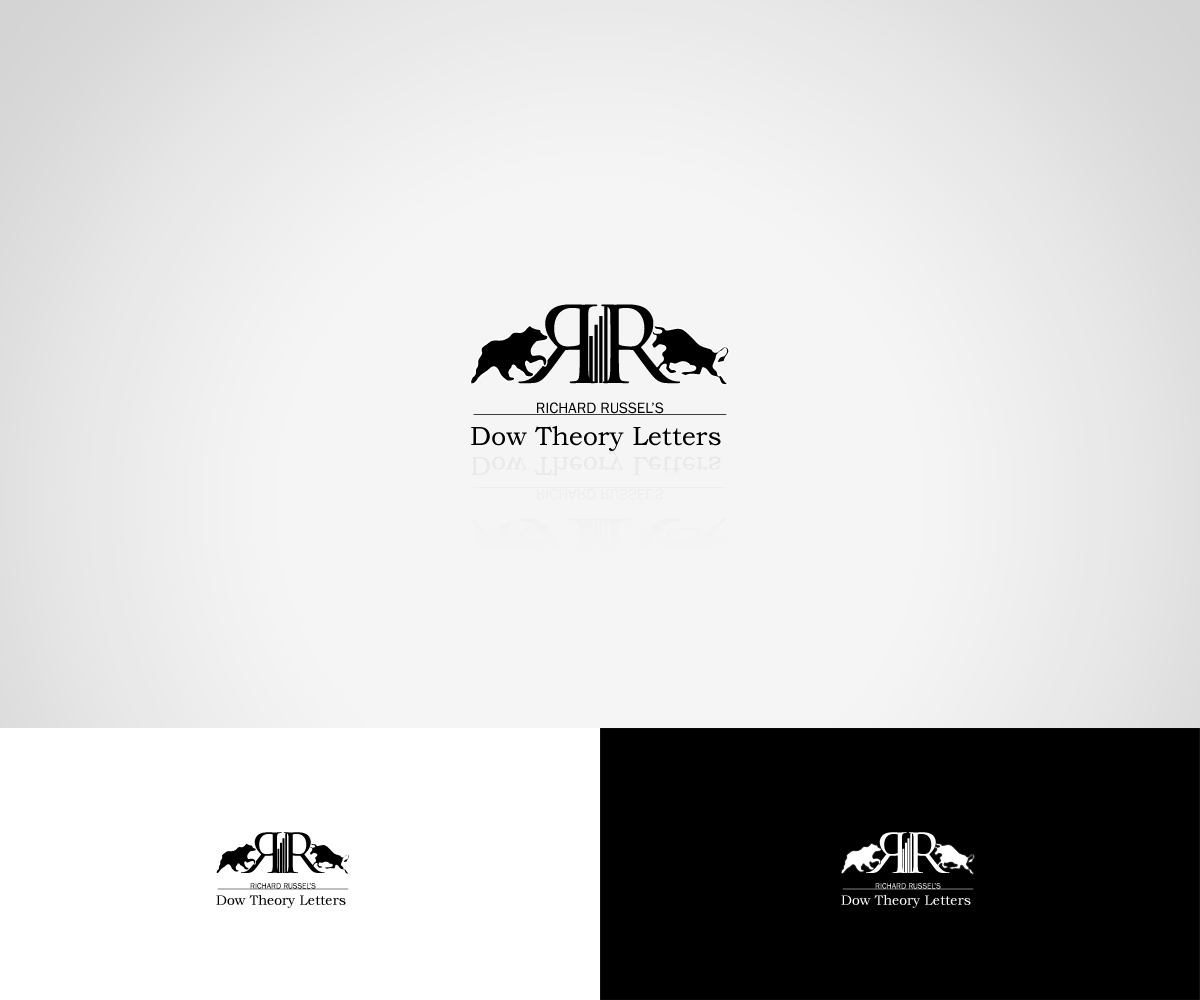 dow theory letters masculine conservative financial logo design for richard 21409 | 128391 2372896 227249 image