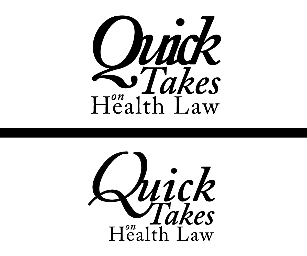 "Health Medical Law: Law Firm Logo Design For ""Quick Takes On Health Law"" Or"