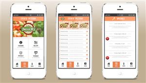 9 Elegant Playful Restaurant App Designs for a Restaurant business ...