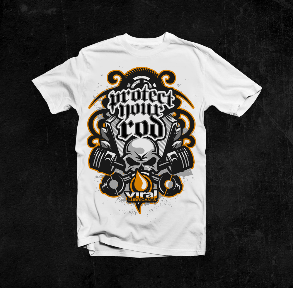 Bold modern t shirt design for doug mochrie by killpixel for Tee shirt logo printing