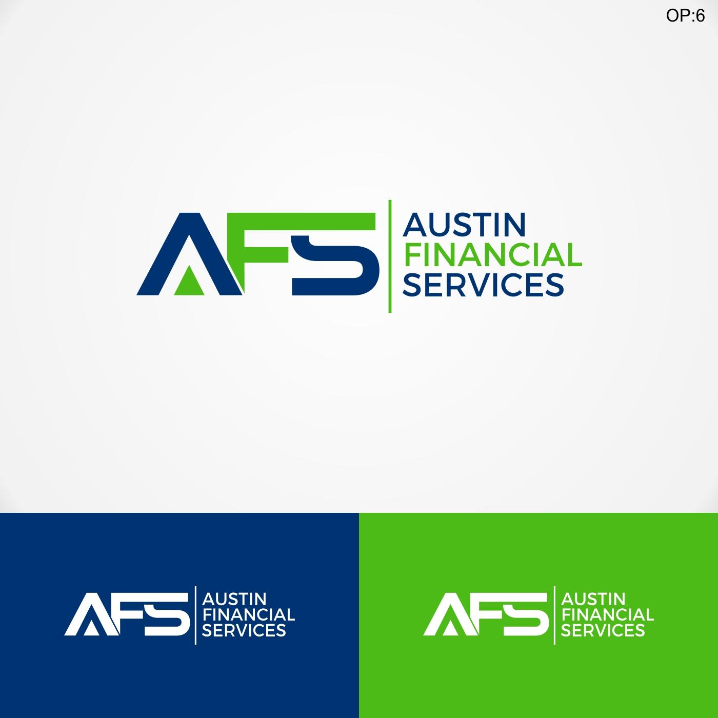 Serious, Modern, Finance Logo Design for AFS - Austin ...