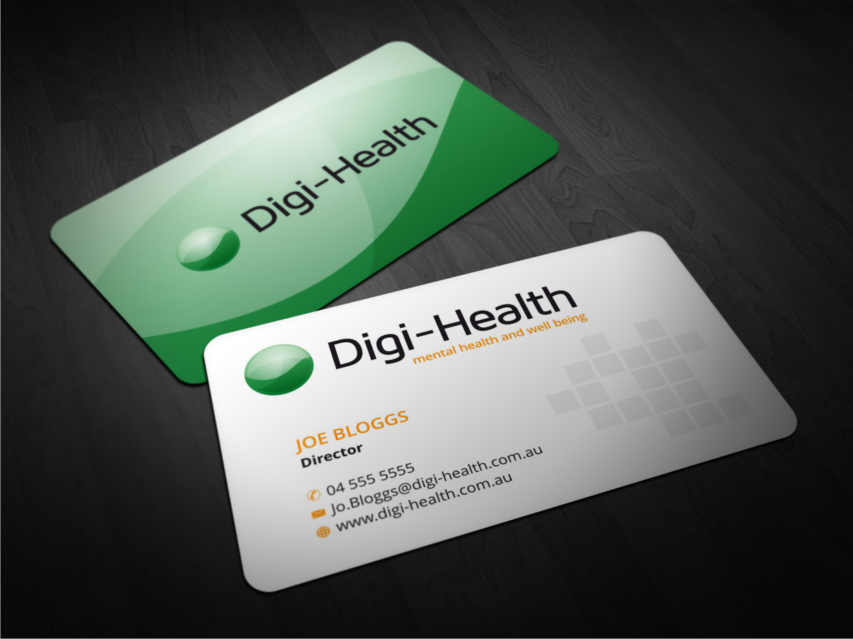 Health Business Card Design Galleries for Inspiration