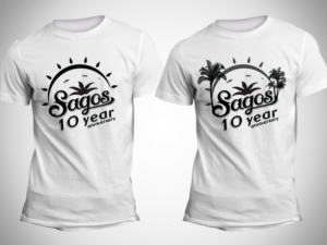 t shirt design design 11955406 submitted to tshirt design 10 year anniversary - White T Shirt Design Ideas
