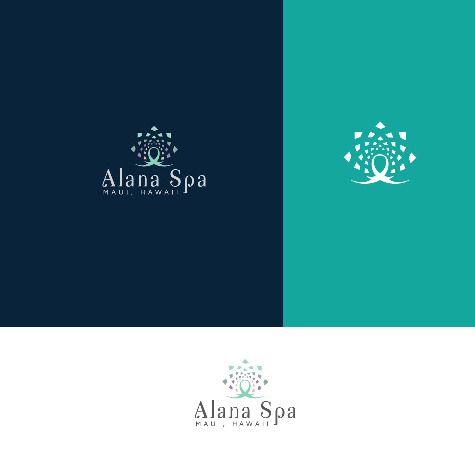 Spa wellness logo  Playful, Modern, Health And Wellness Logo Design for Alana Spa Maui ...