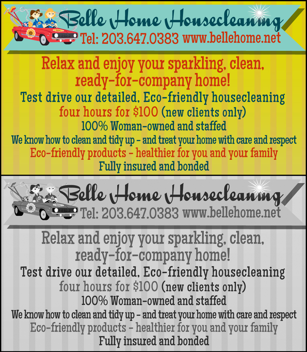 house cleaning advertisements