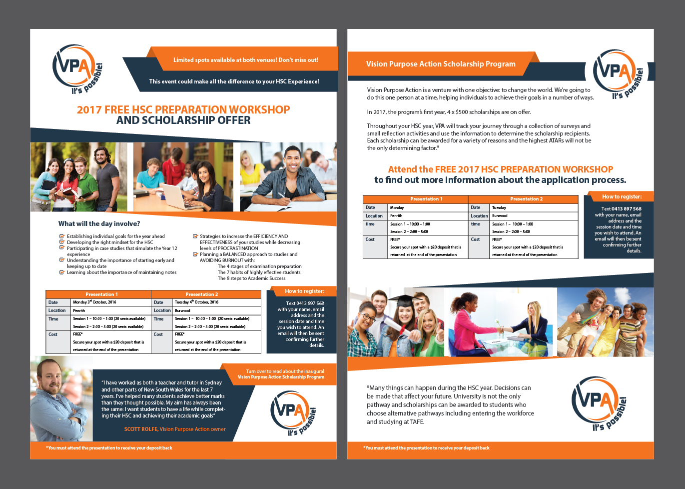 Bold Playful Education Flyer Design For A Company By Achiver Design 12021898