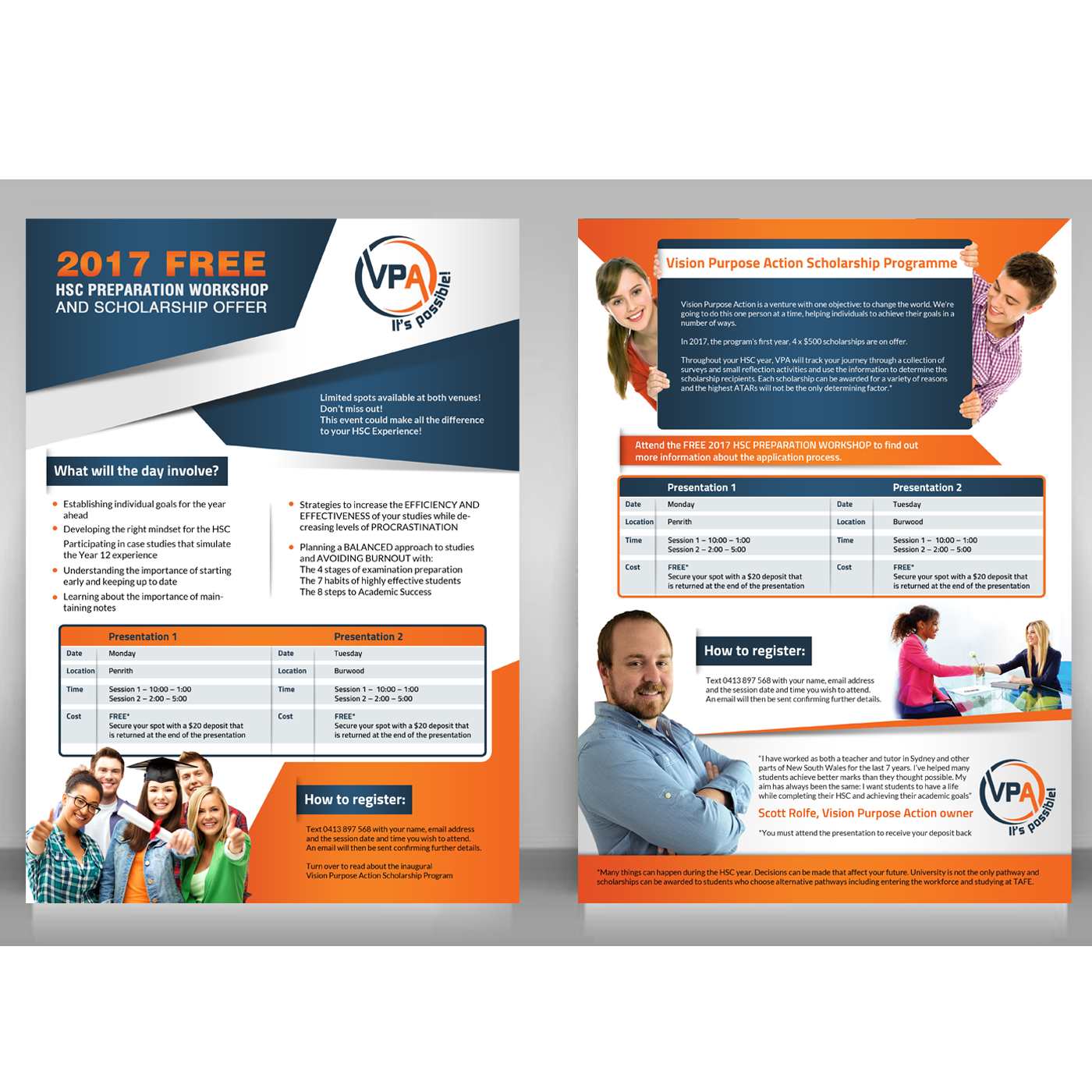 Bold Playful Education Flyer Design For A Company By Creative Bugs Design 12032736