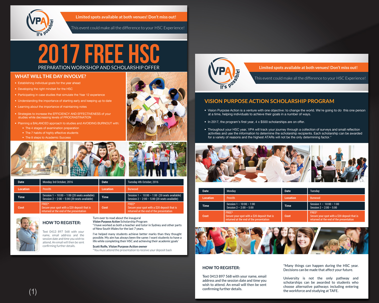 Bold, Playful, Education Flyer Design for a Company by