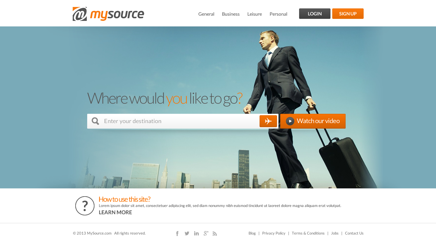Modern, Professional Web Design for Mysource Group Pte Ltd by ...