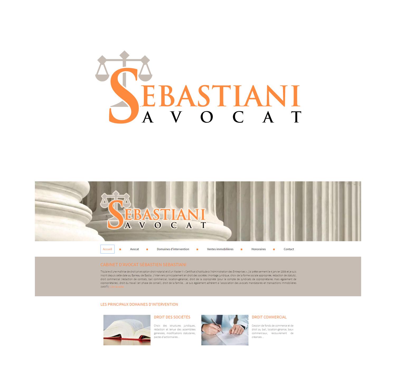 Elegant Serious Logo Design For Cabinet Davocat Sébastien