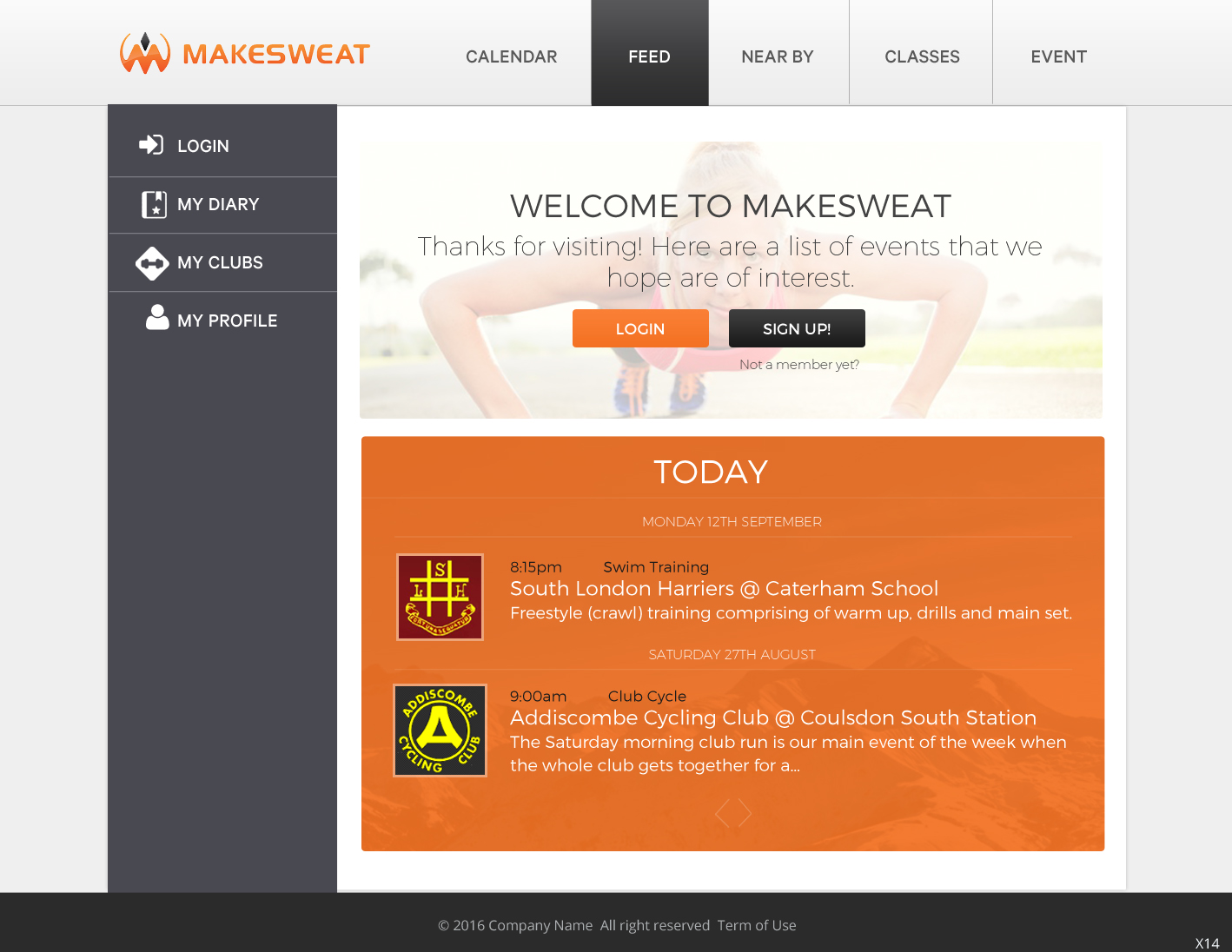 Serious Modern Health And Wellness Web Design For A Company By Pb Design 12024869
