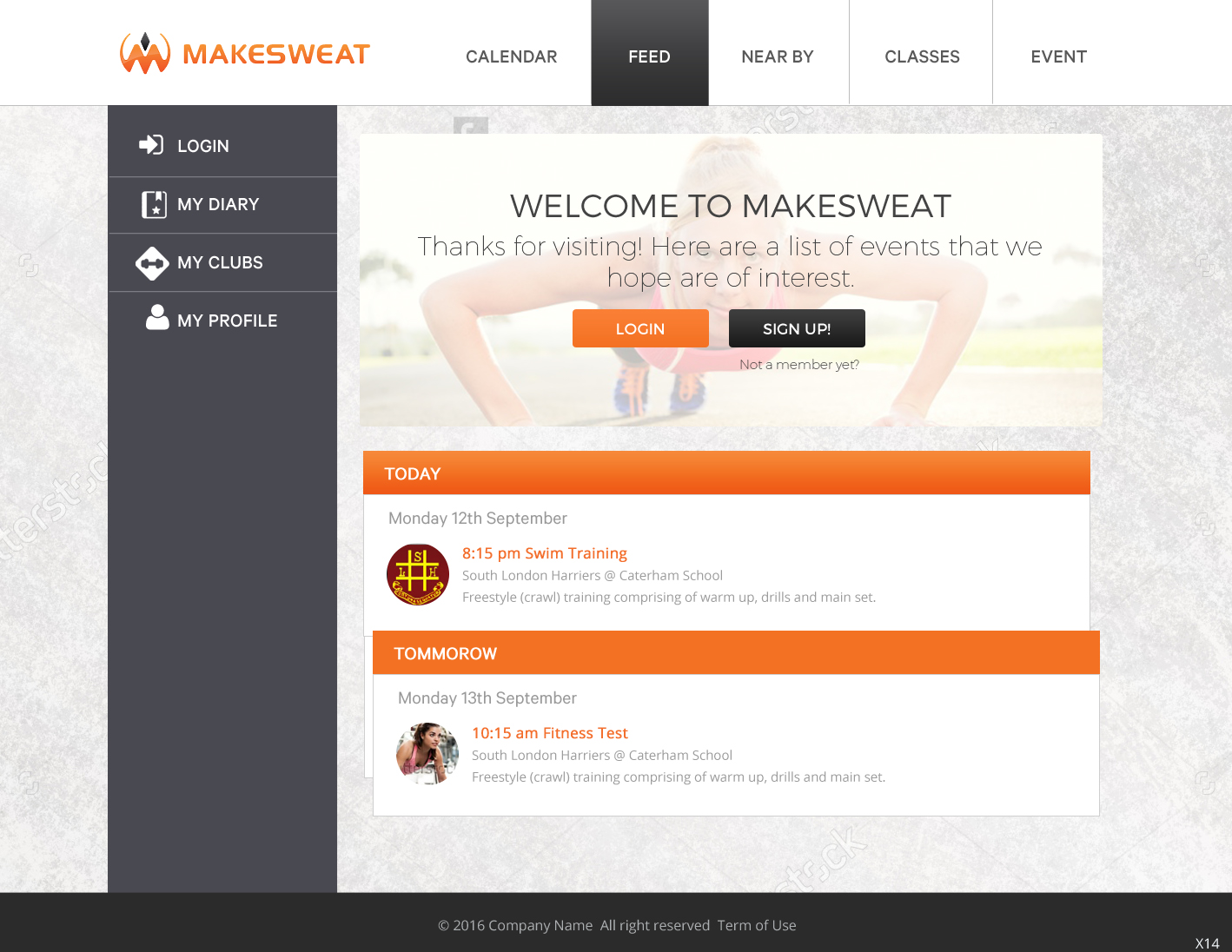 Serious Modern Health And Wellness Web Design For A Company By Pb Design 12047011