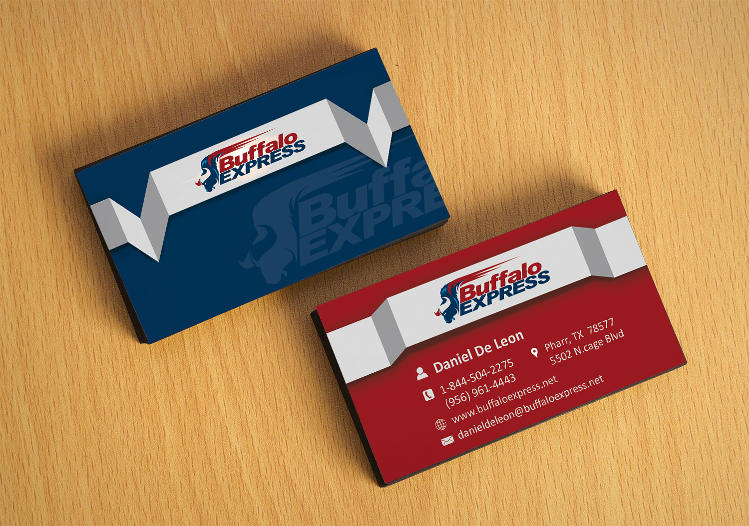 Professional upmarket business business card design for buffalo business card design by 4m design for buffalo express design 12027859 reheart Image collections