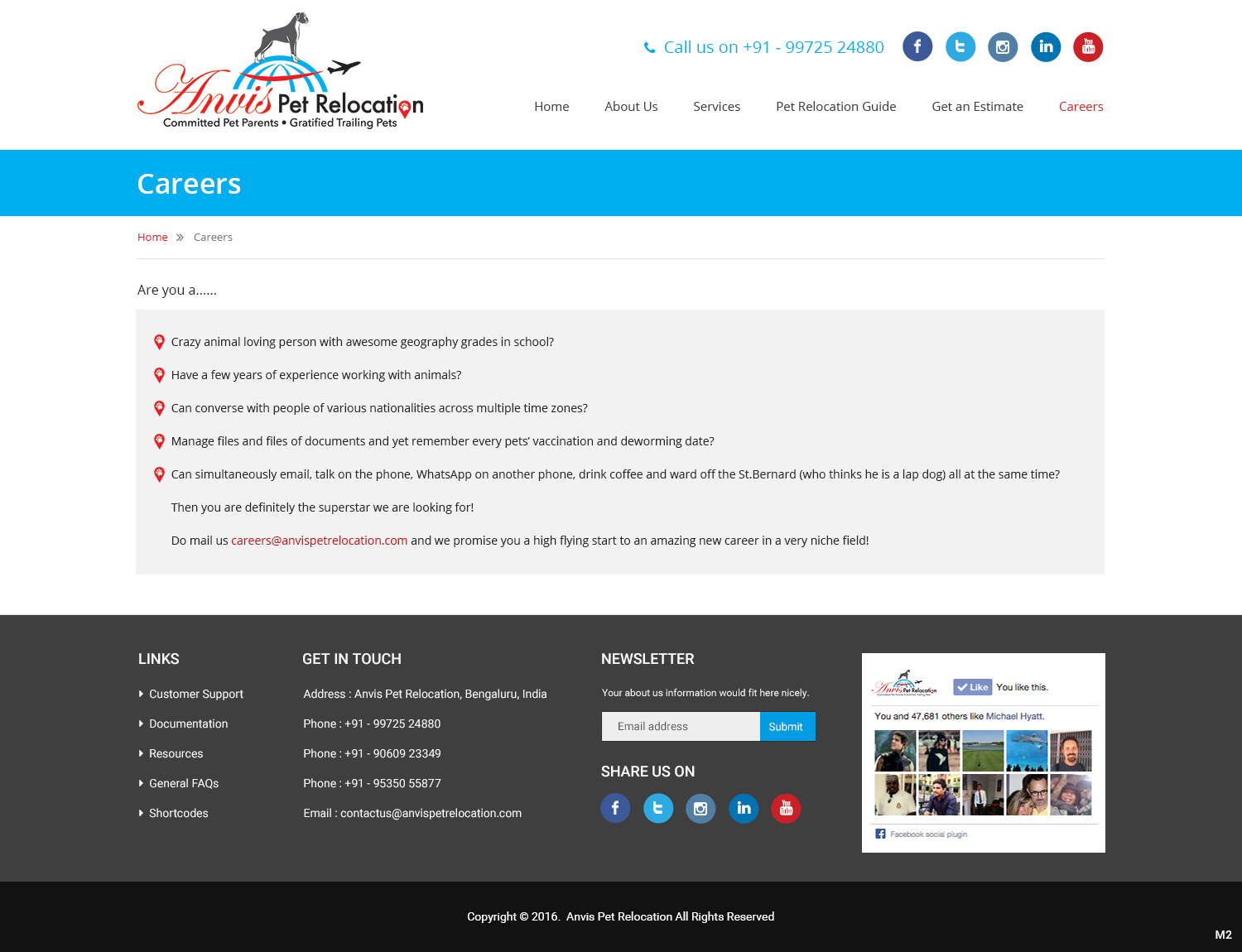 Elegant Playful Pet Care Web Design For A Company By Pb Design