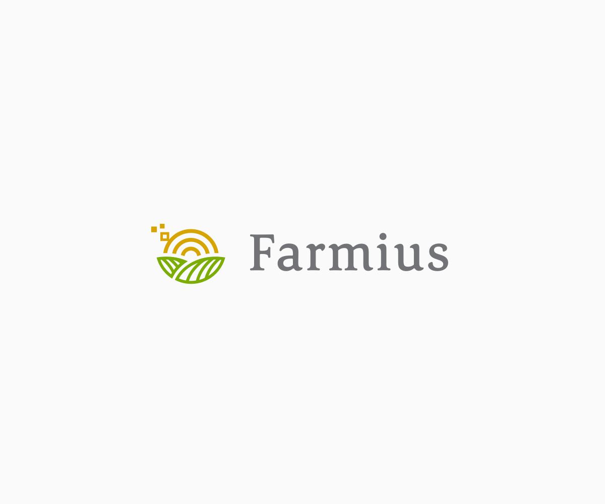 Conservative, Modern, Agriculture Logo Design For Farmius