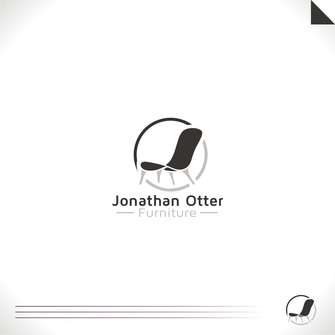 Serious Modern Furniture Logo Design for Jonathan Otter Furniture
