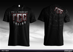 T-shirt Design by GekDesigns - Full Combat Centre Shirt
