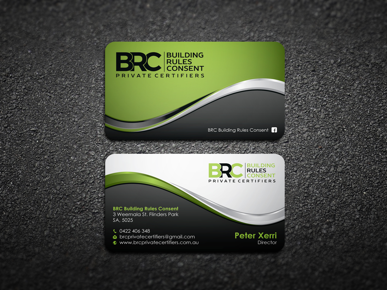 Modern, Professional, Construction Business Card Design for a ...