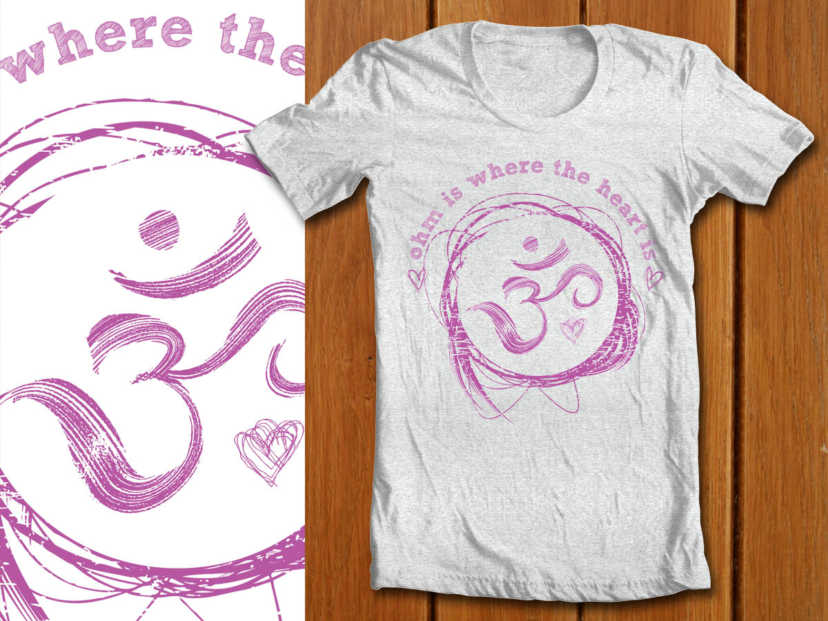 yoga t shirt designs