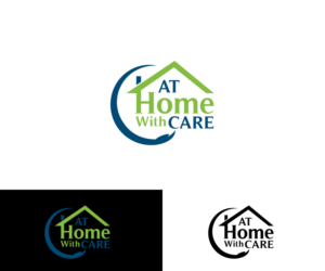 26 professional modern health care logo designs for at home with care a health care business in - Home health care logo design ...