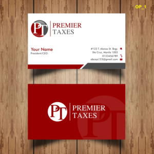 Business card sample for tax preparer choice image card design and business card sample for tax preparer images card design and card tax preparation business cards design reheart Image collections