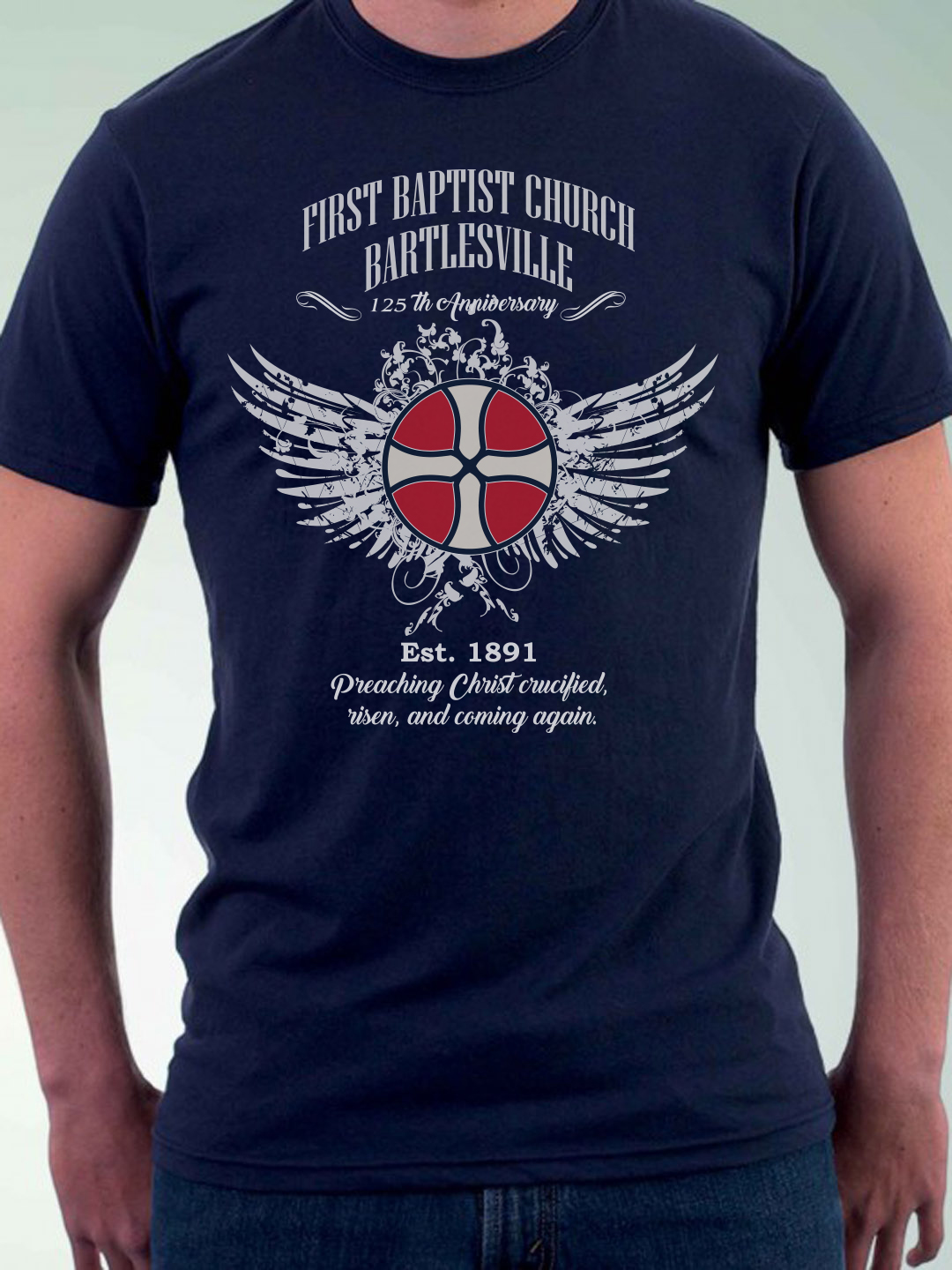 T Shirt Design (Design #12102874) Submitted To First Baptist Church  Bartlesville 125th