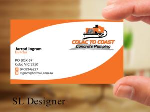 65 Bold Serious Concrete Business Card Designs for a Concrete ...