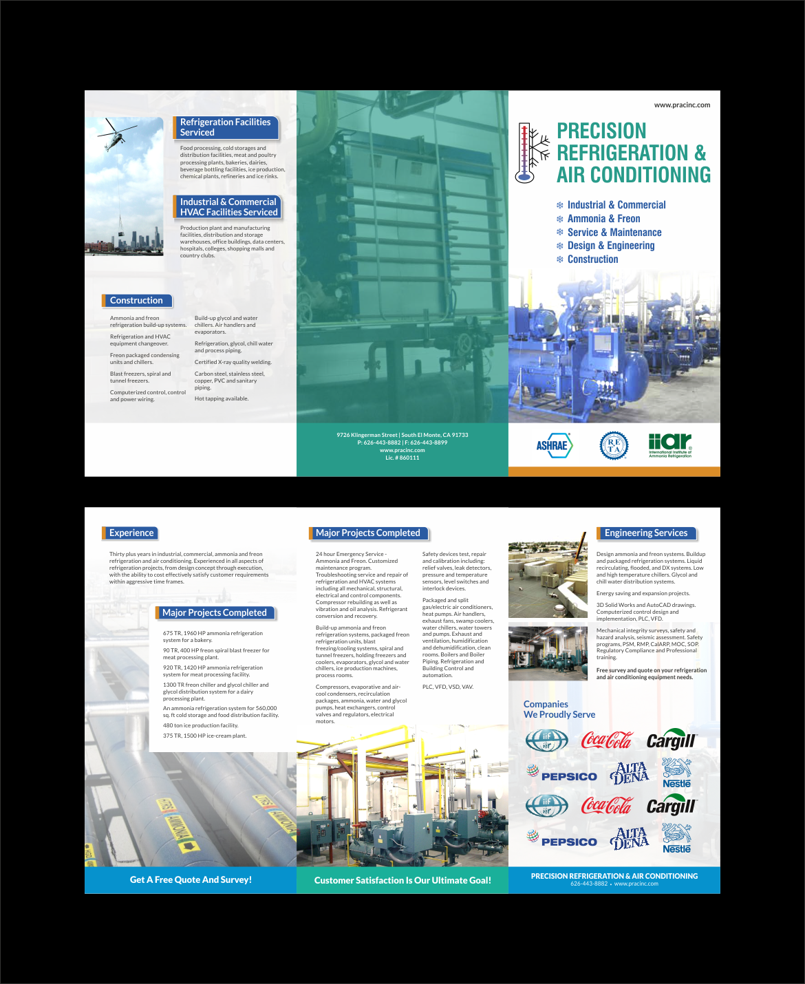 Elegant Playful It Company Brochure Design For Precision Industrial Refrigeration Compressor Wiring Diagrams By Nng 12203698