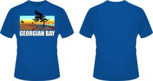 cda9faa1 'Georgian Bay' logo/t-shirt design with California-style branding