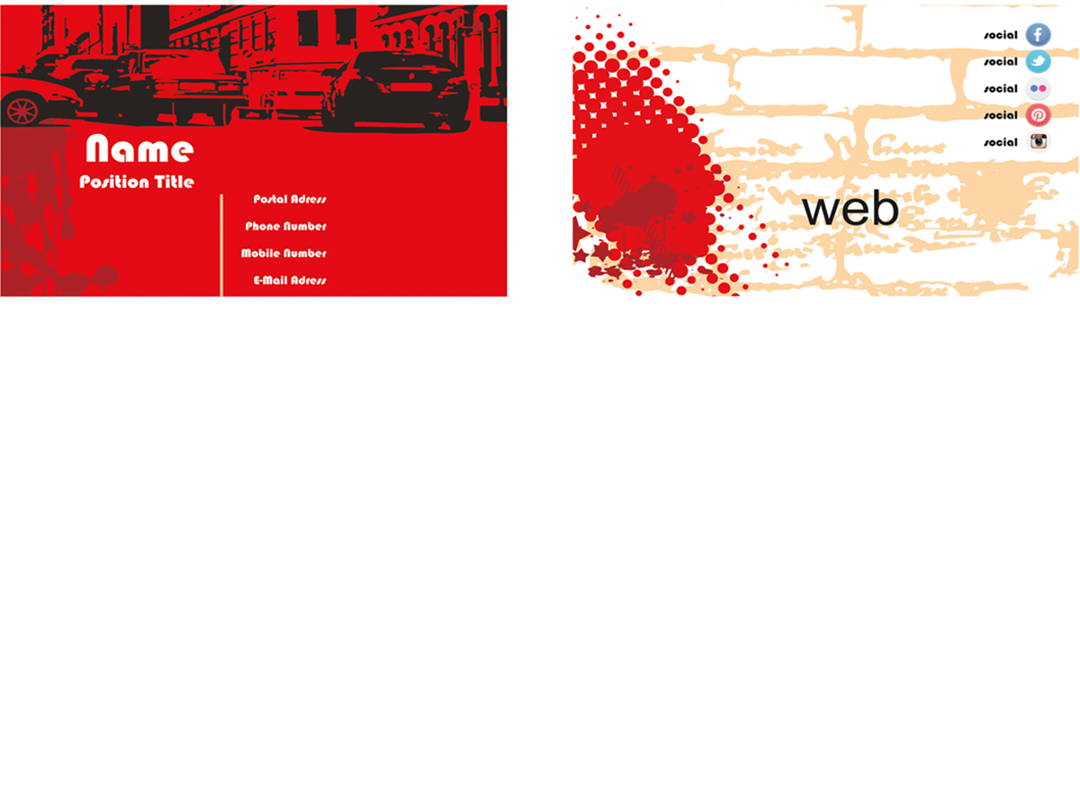Modern, Professional, Business Business Card Design for