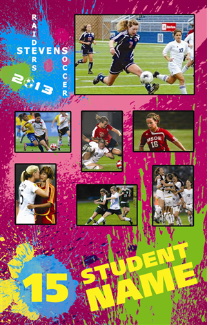 Poster Design by Belle Hammond - Soccer Photo Poster