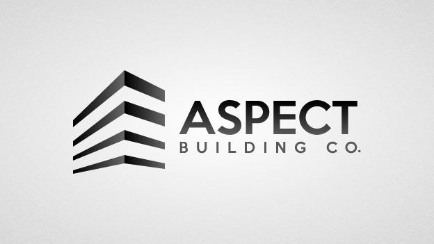Elegant, Playful, Home Builder Logo Design for Aspect