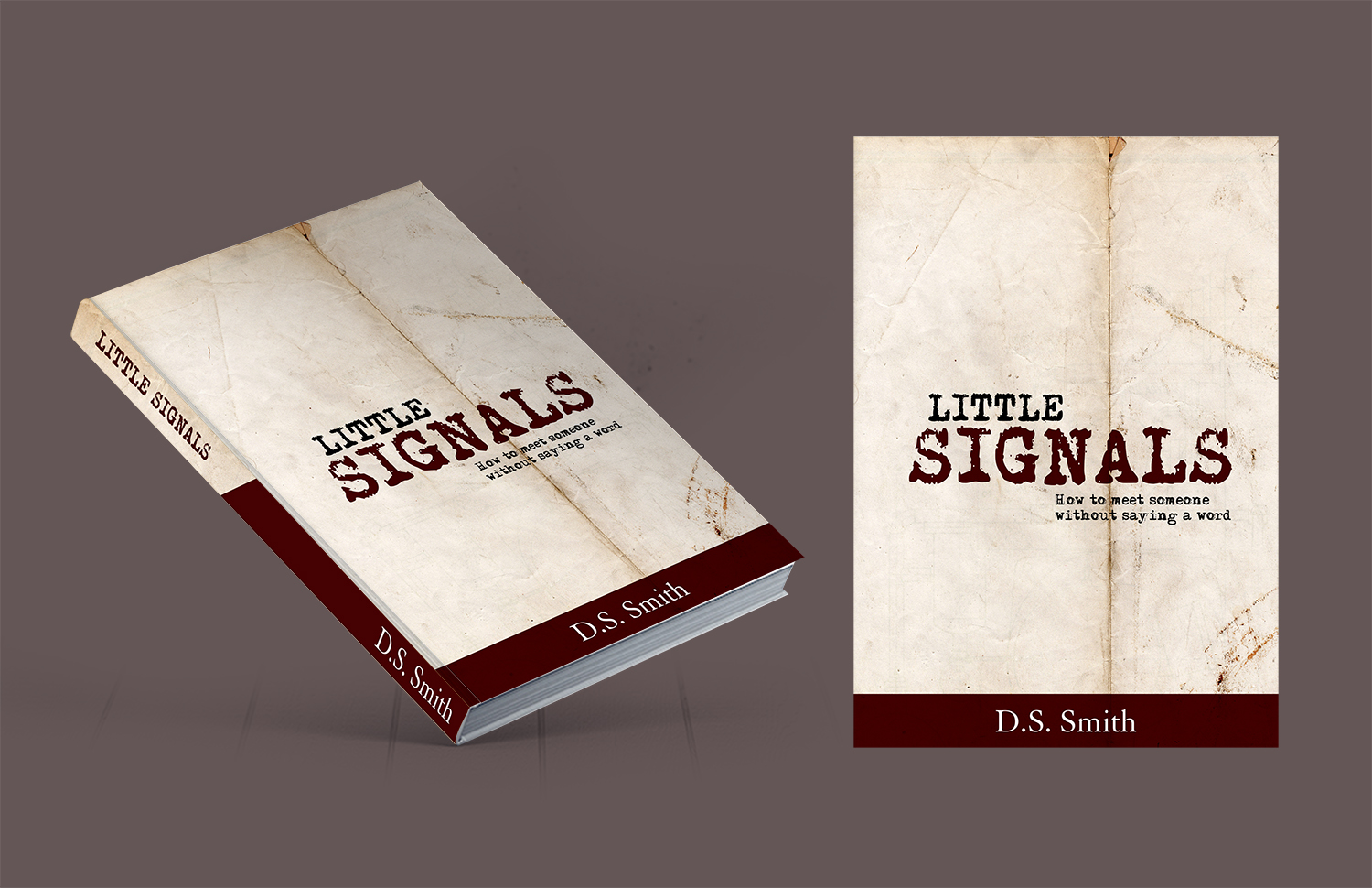 traditional conservative dating book cover design for a company by