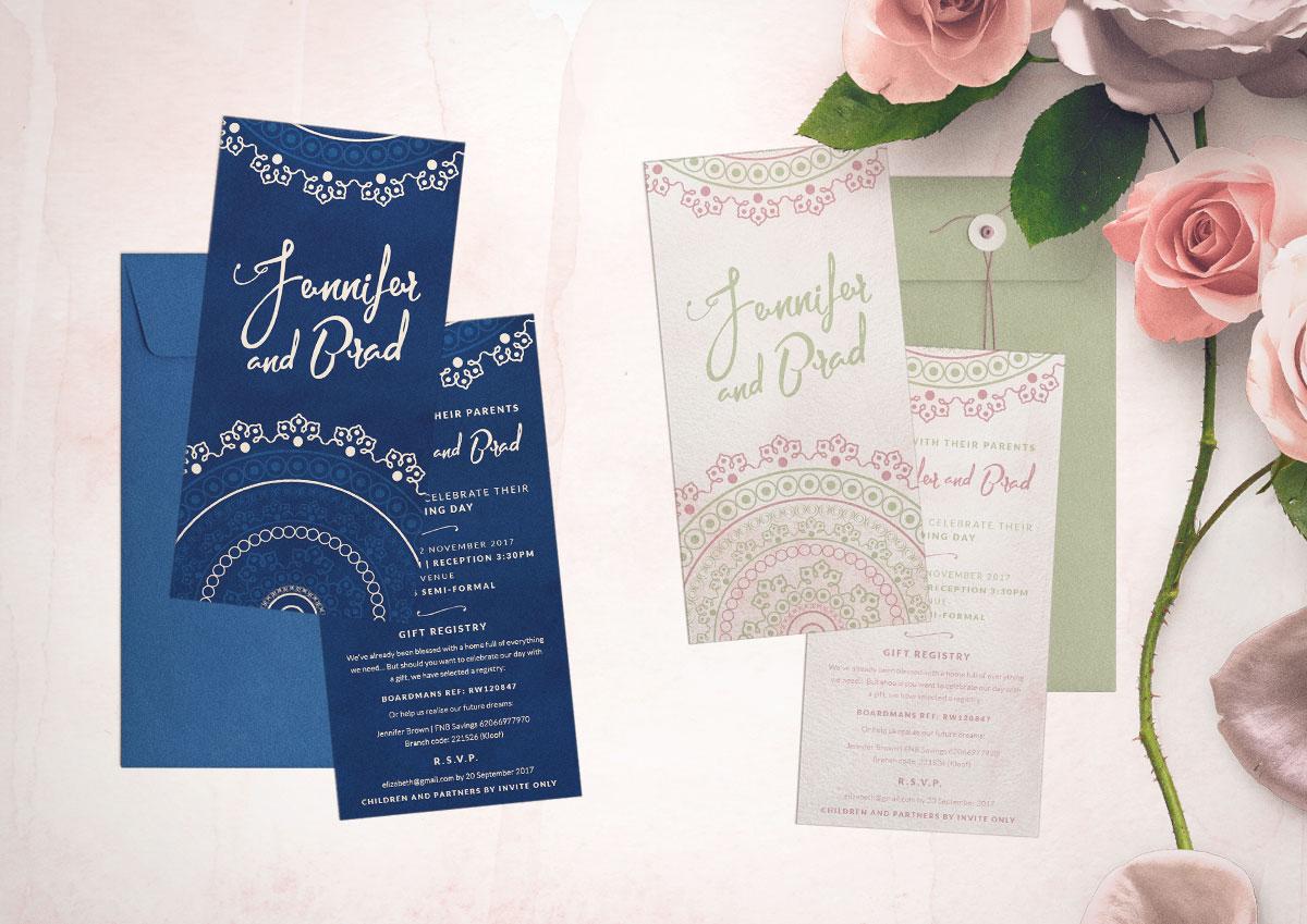 Elegant, Personable, Wedding Invitation Design for Our initials S&C ...