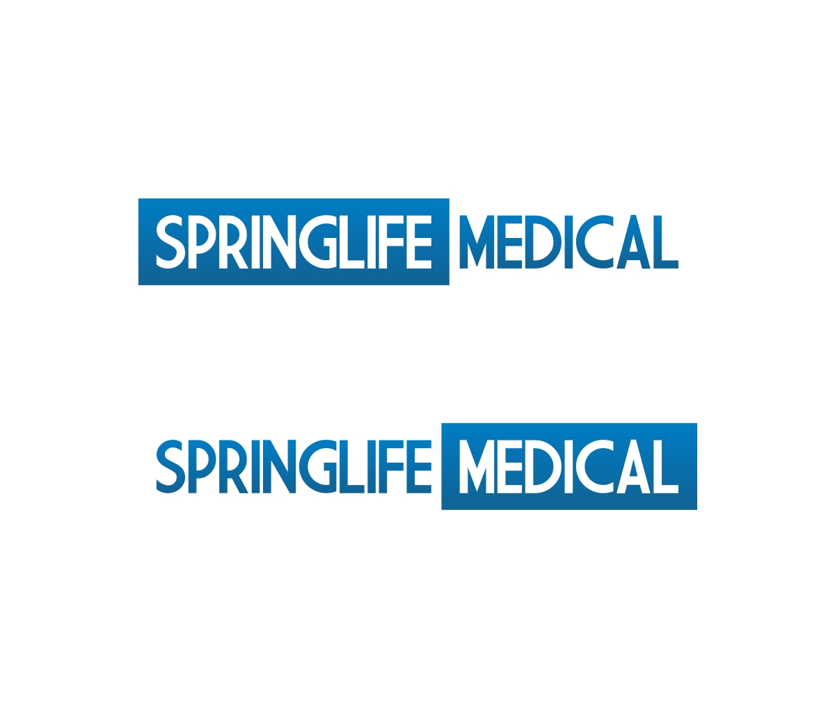 Modern Professional Medical Logo Design For Springlife