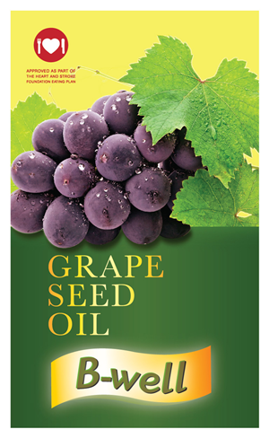 Packaging Design by Design Brigade - Grapeseed oil label designs for new retail product