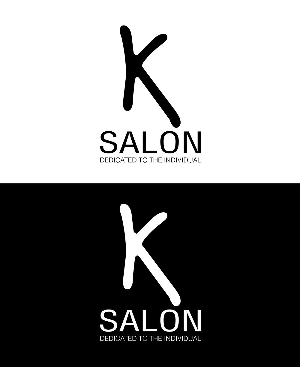 Logo Design for K Salon by LADesign Graphics   Design #2415181