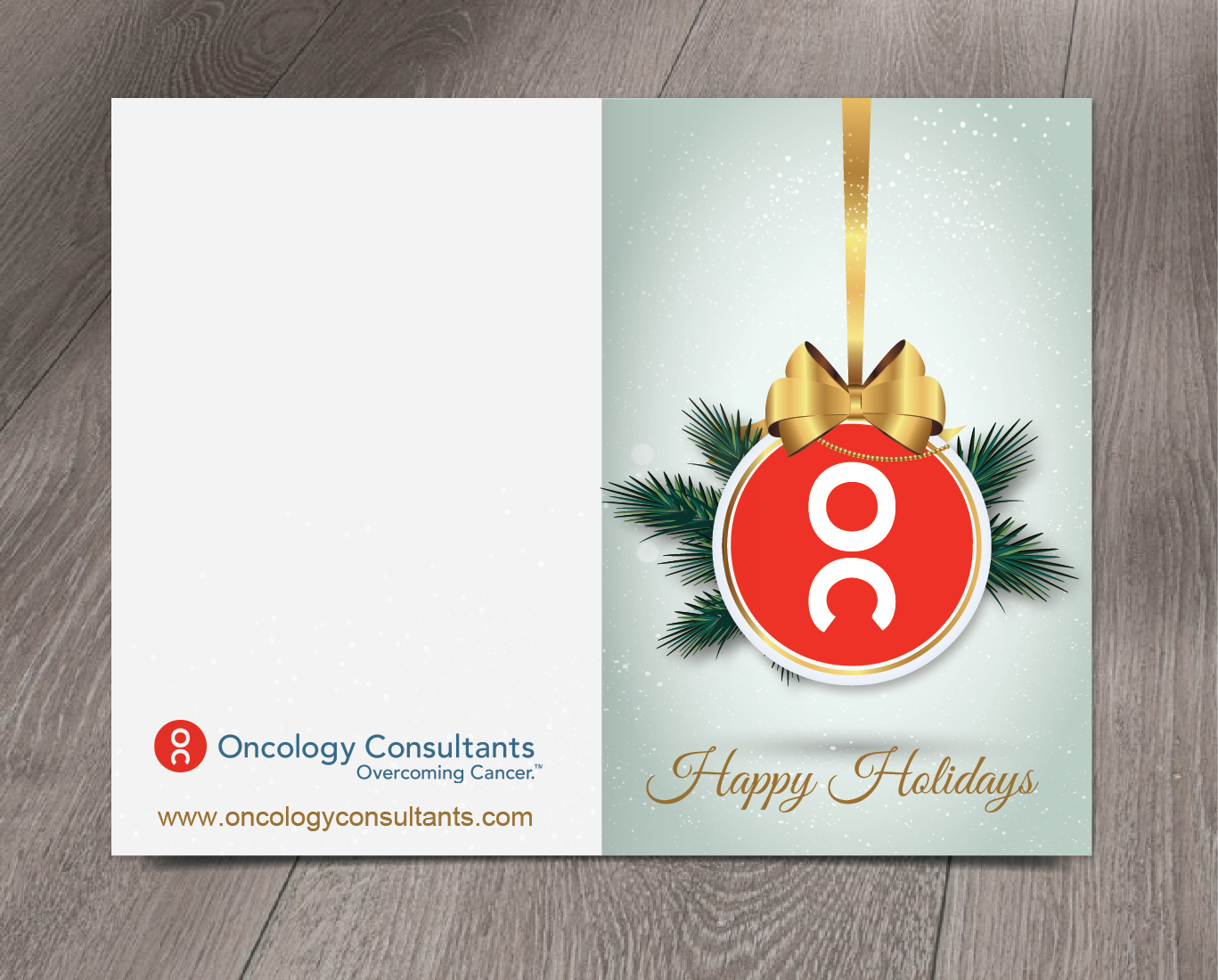Greeting Card Design For Oncology Consultants By Alex989 Design