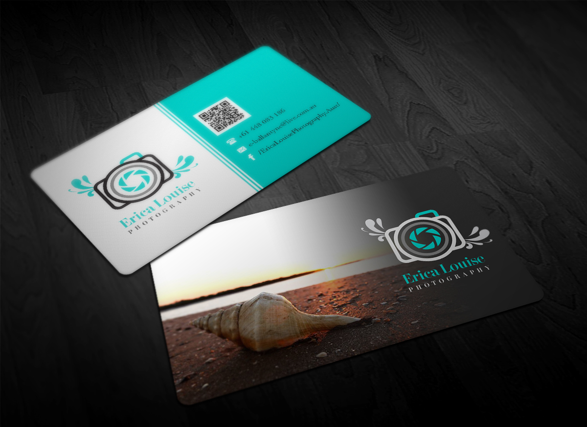 Elegant, Modern, Business Business Card Design for Erica Louise ...