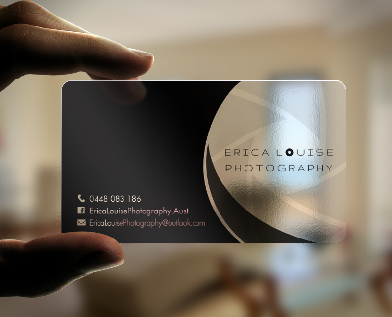 Elegant modern business business card design for erica louise business card design by chandrayaaneative for this project design 12180585 reheart Image collections