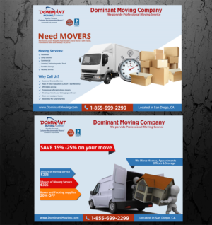 attractive flyer for moving company flyer design by avde17sharif