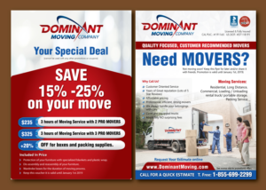 74 masculine elegant moving company flyer designs for a moving company business in united states. Black Bedroom Furniture Sets. Home Design Ideas