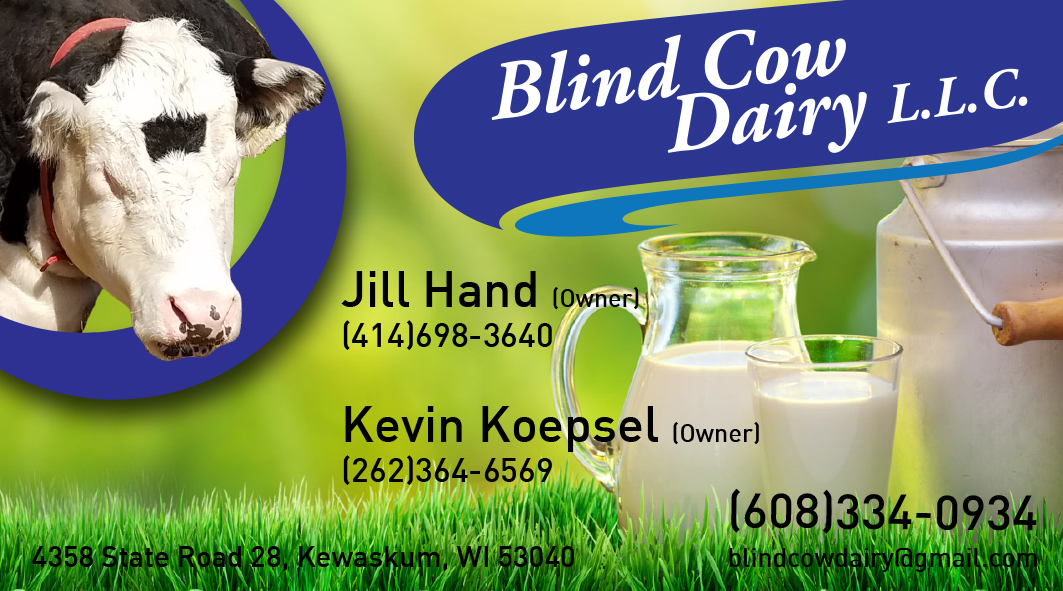 Professional serious business card design for jill hand by business card design by designiborjs for blind cow dairy business cards design 12188814 colourmoves