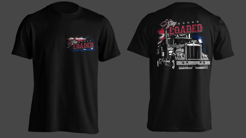 12 masculine t shirt designs trucking company t shirt for Business t shirt design