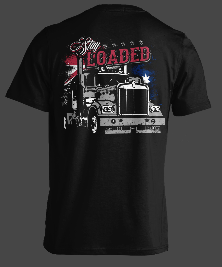 T Shirt Design By Erwin87 For Cool Eye Catching Shirt For Truck Company    Design