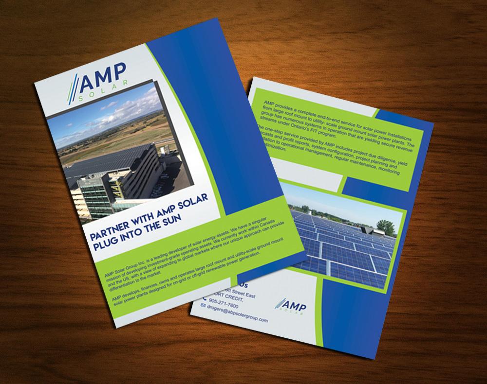 Professional, Upmarket, Solar Brochure Design for a Company
