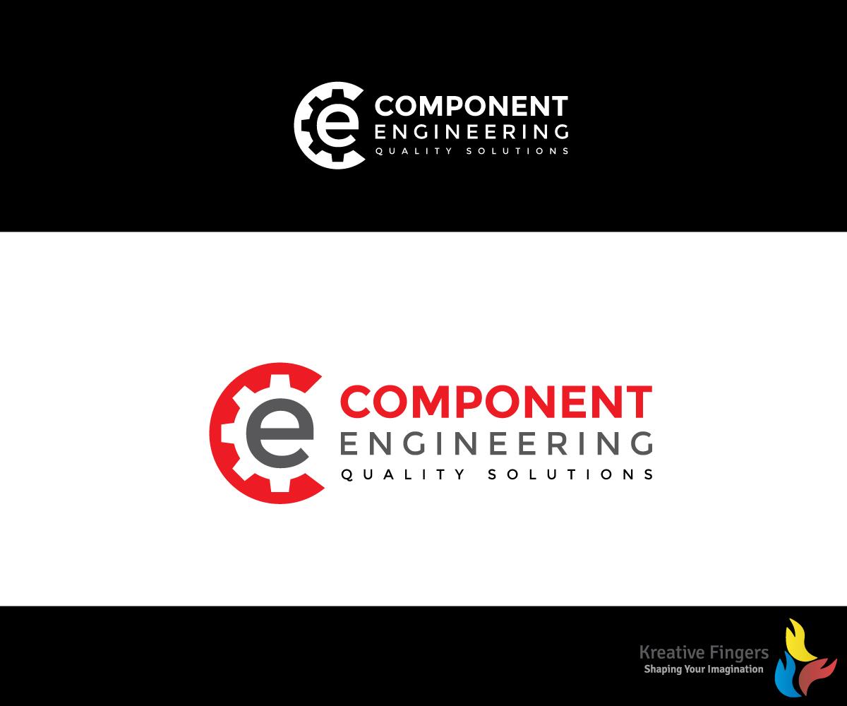 Logo Design by Kreative Fingers for Component Engineering Logo Design -  Design #12138322